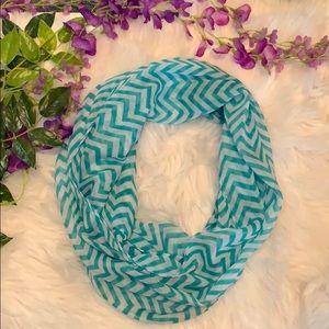 Accessories - Cotton chevron infinity scarf